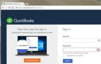 Login to your QuickBooks online account