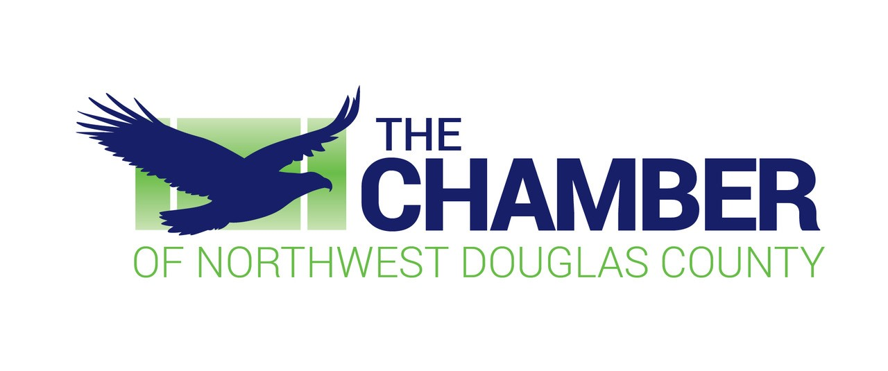 chamber of commerce northwest douglas county, highlands ranch, CO logo